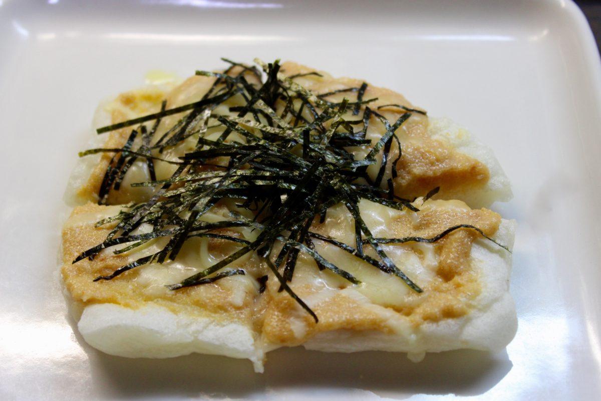 明太マヨチーズ餅ピザ