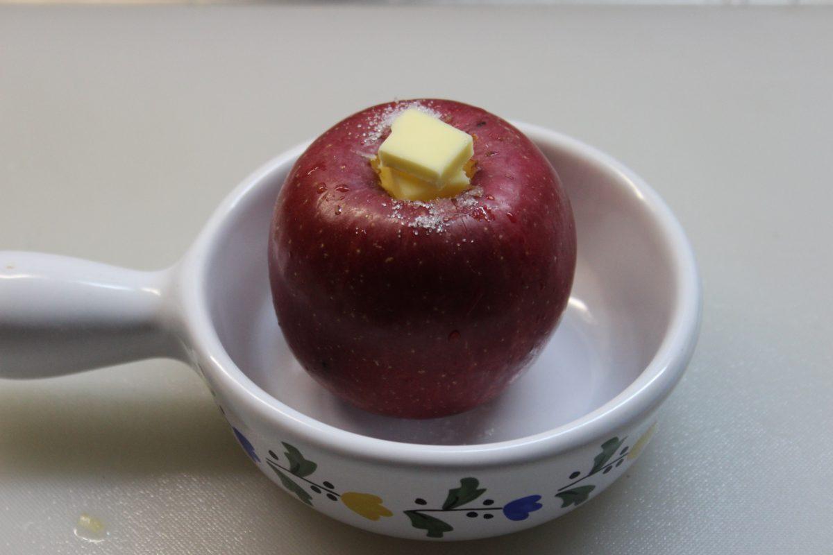 簡単!焼きりんご