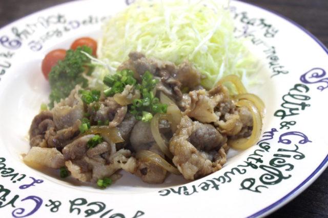 コッテリ豚肉の生姜焼き!