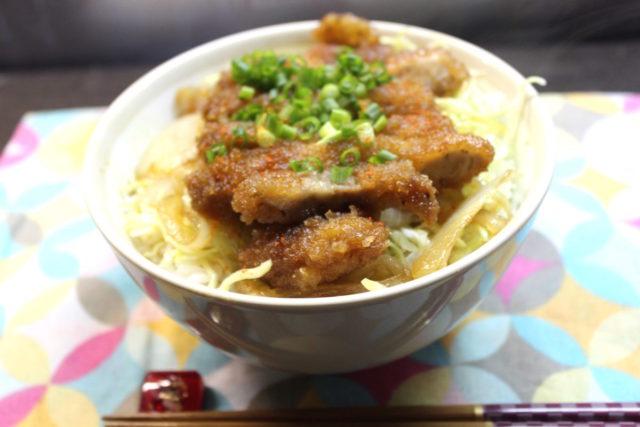 米粉とんかつ甘醤油煮