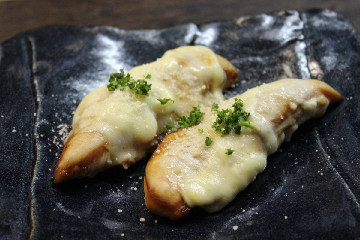ささみのマヨチーズ焼き