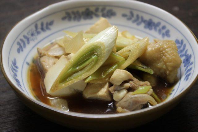 豆腐と若鶏の旨煮
