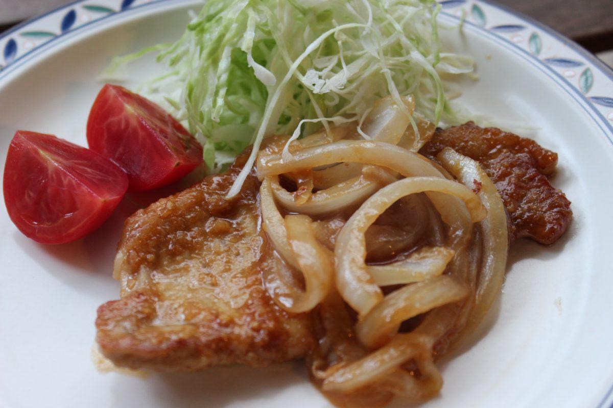 豚ロースの味噌焼き