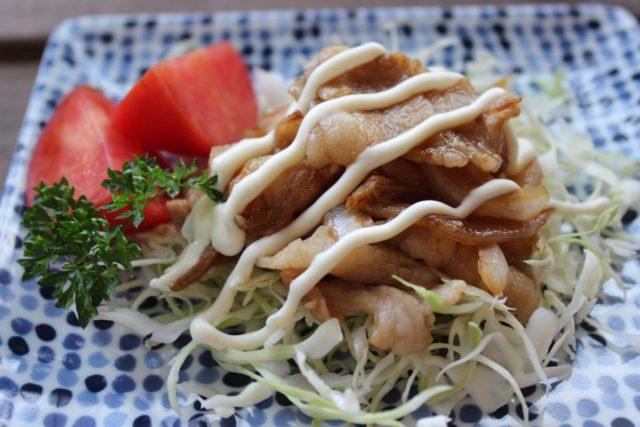 生姜たっぷり!豚肉の生姜焼き