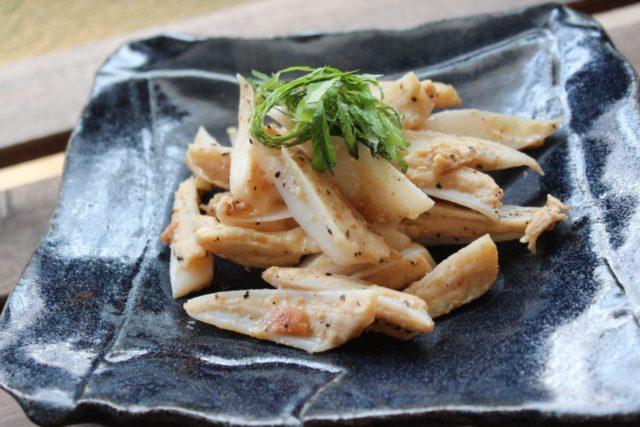 ヤゲン軟骨の梅肉炒め,エビス商事,宮崎県産エビス鶏 ヤゲン軟骨