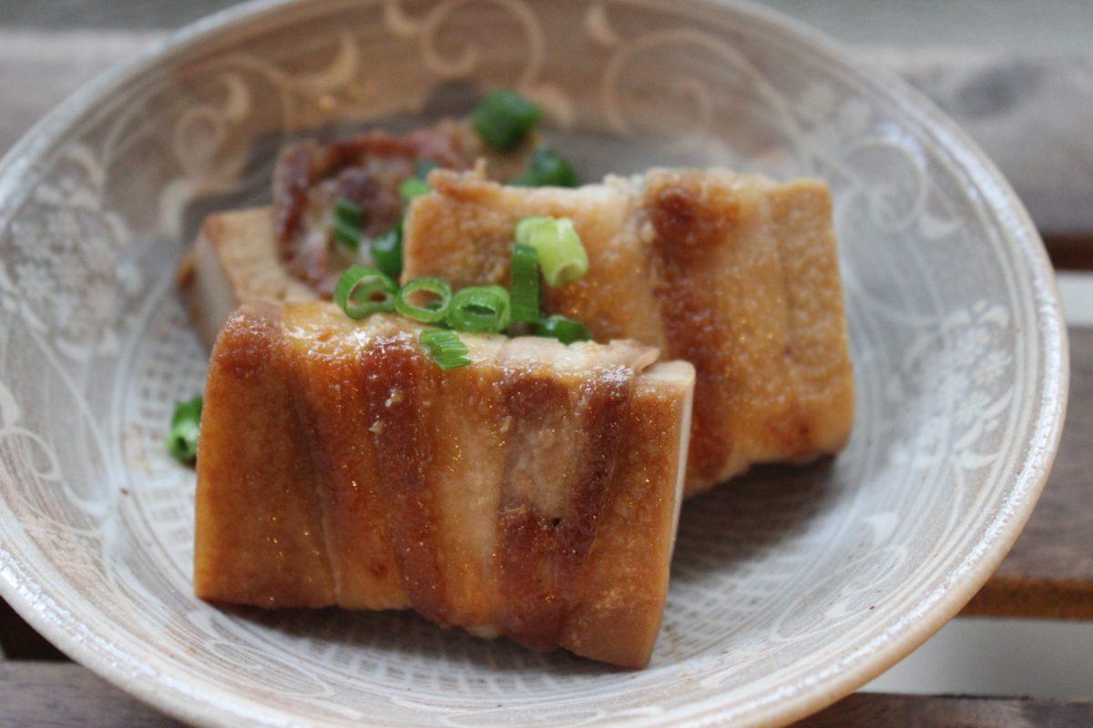高野豆腐豚肉巻き