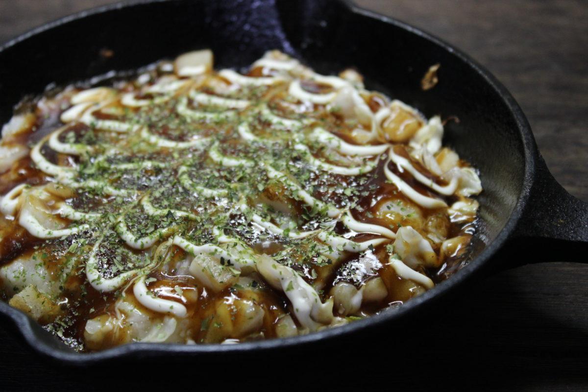 卵不使用山芋の鉄板焼き
