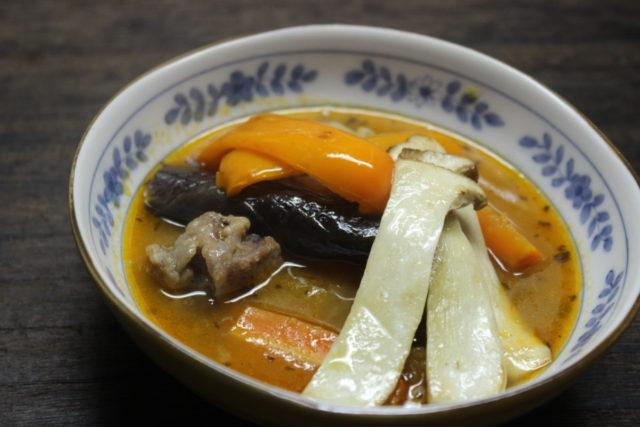 簡単!野菜スープカレー