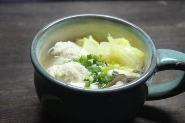 やわらか!豆腐団子鍋,卵アレルギー対策