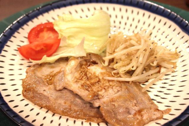 豚肉のにんにく醤油焼き,小麦アレルギー対策